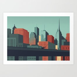 Urban Wildlife - Swordfish Art Print