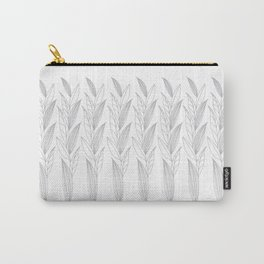 Eternity in Silver Leaf II Carry-All Pouch
