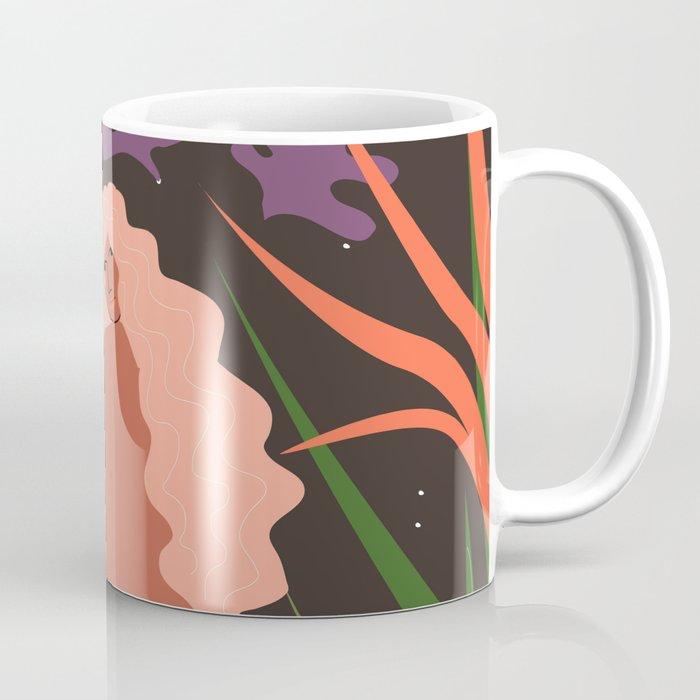 Girl in Botanic Garden Coffee Mug