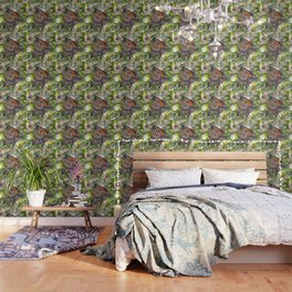 Monarch Mating Wallpaper