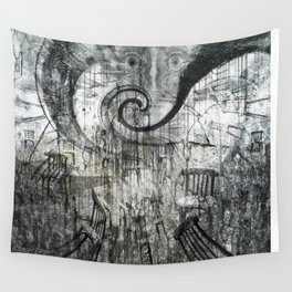Beware Of Darkness Wall Tapestry