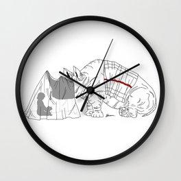Danger Kids: Reading Rhino Wall Clock