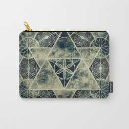 Sacred Geometry for your daily life -  Platonic Solids - IGNIS Carry-All Pouch