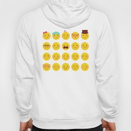 Cheeky Emoji Faces Hoody