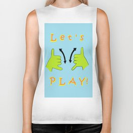 ASL Let's PLAY! Biker Tank