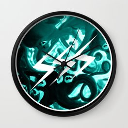 SSS Seizure Squid Studio // Logo // Tentacles Wall Clock