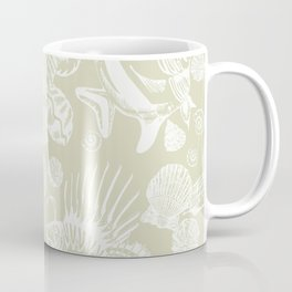 Ocean Critters with Grey Background Coffee Mug