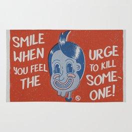 Hater Vintage Kid Rug