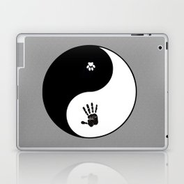 Dogs And Humans Laptop & iPad Skin