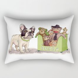 Bubba and His Monkey Toys Rectangular Pillow