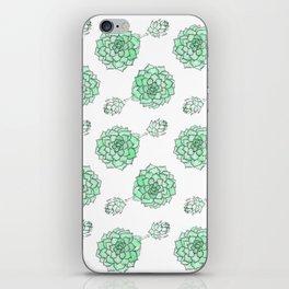 PATTERN II Succulent Life iPhone Skin
