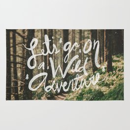 Let's Go on a Wild Adventure Rug