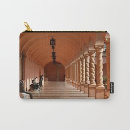Pink Marble Arcade At Ringling Museum Carry-All Pouch