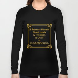 La Sainte Trinité Viennoise Long Sleeve T-shirt