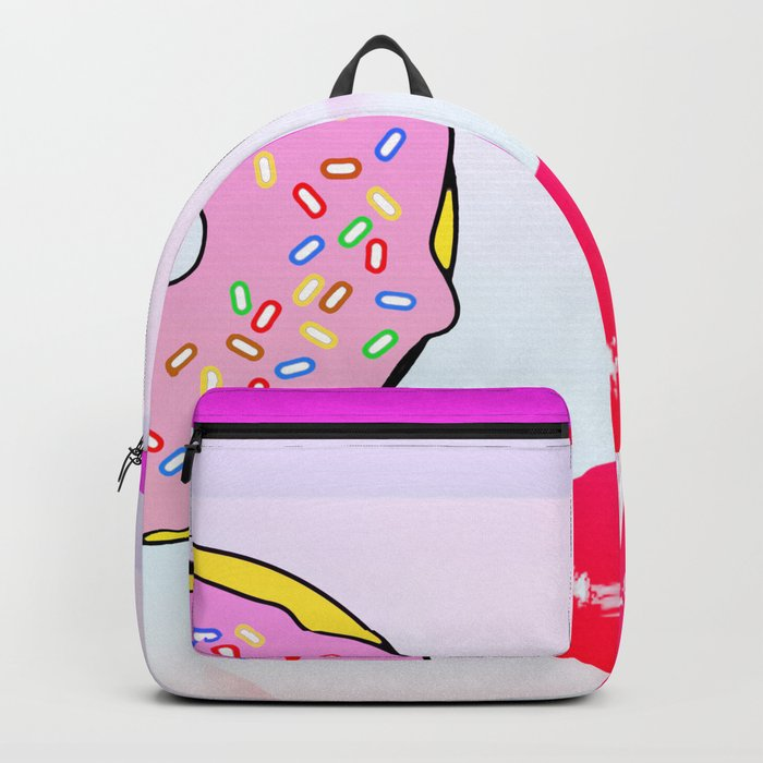Donuts Girl Backpack