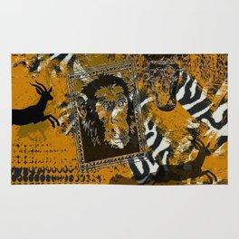 Safari sketch Rug