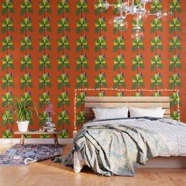 Palm tree vase - take you home Wallpaper