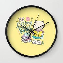 Be a Lifelong Learner Wall Clock