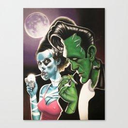 """lit"" Canvas Print"