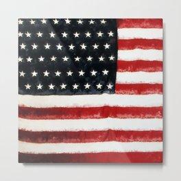 USA Flag ~ American Flag ~ Ginkelmier Inspired Metal Print