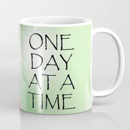 One Day at a Time Sweet Peas Coffee Mug
