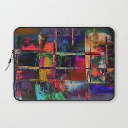 Canvas Abstract Deux Laptop Sleeve