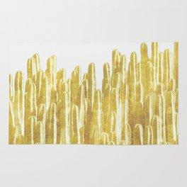 Golden Cactus Rug