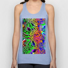 Spectral Shapes Abstract Unisex Tank Top