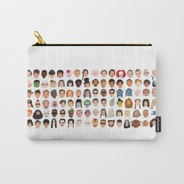 Movie Characters Heads Carry-All Pouch