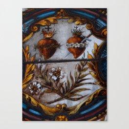 Sacred Hearts Canvas Print