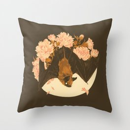 Shadow Veil Copse Throw Pillow