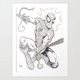 Spider-Man Art Print