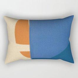 Sailing in a Sea of Doubts Rectangular Pillow