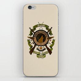 Sgt Bucky Barnes (green) iPhone Skin