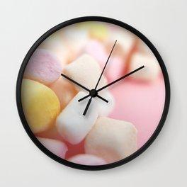 marshmallow Wall Clock