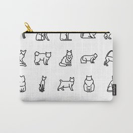 CUTE CAT BREEDS PATTERN Carry-All Pouch