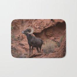 Desert Bighorn, Valley of Fire - III Bath Mat