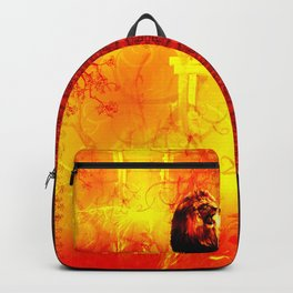 The Lion That Roars Backpack