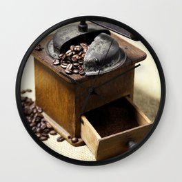 coffee grinder 6 Wall Clock