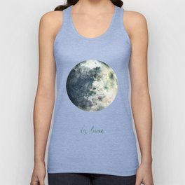 La Lune Unisex Tank Top