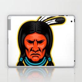 Sioux Chief Sports Mascot Laptop & iPad Skin