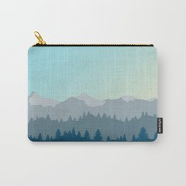 Face This Mountain (No Text) Carry-All Pouch
