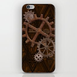 Comforts of Steampunk iPhone Skin