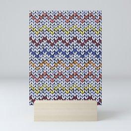 Knitting Hygge Mini Art Print