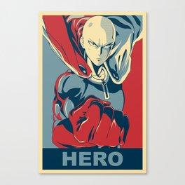 Saitama - Hero Canvas Print