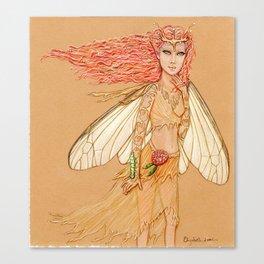 Silkworm Couture Canvas Print