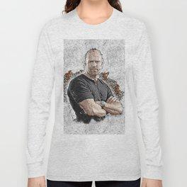 Jason Graffiti Art Long Sleeve T-shirt
