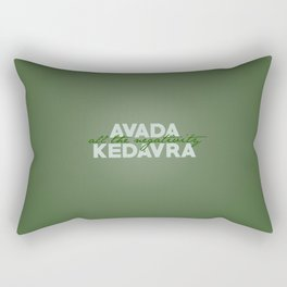 Avada The Negativity Rectangular Pillow