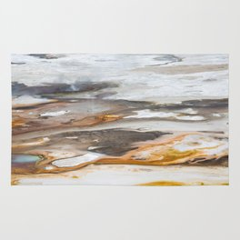 Yellowstone National Park - Thermophiles, Norris Geyser Basin Rug