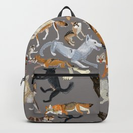 Wolves of the world 1 Backpack